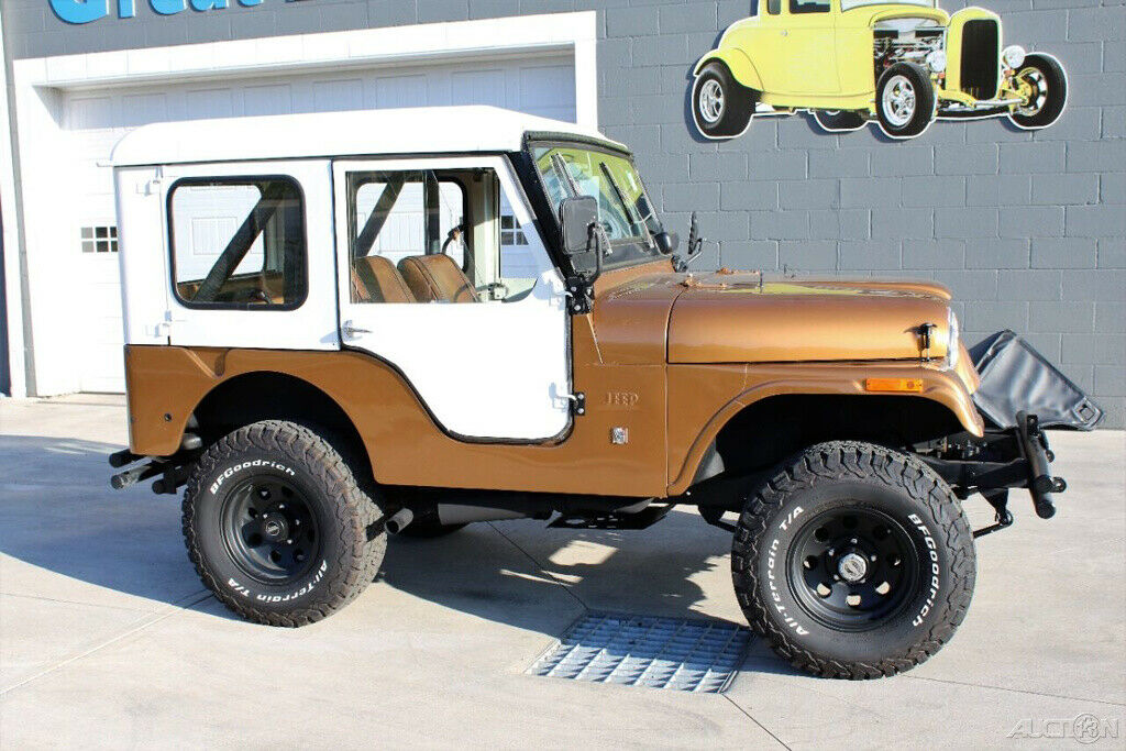 1971 Jeep CJ Cj 5 Dauntless V6