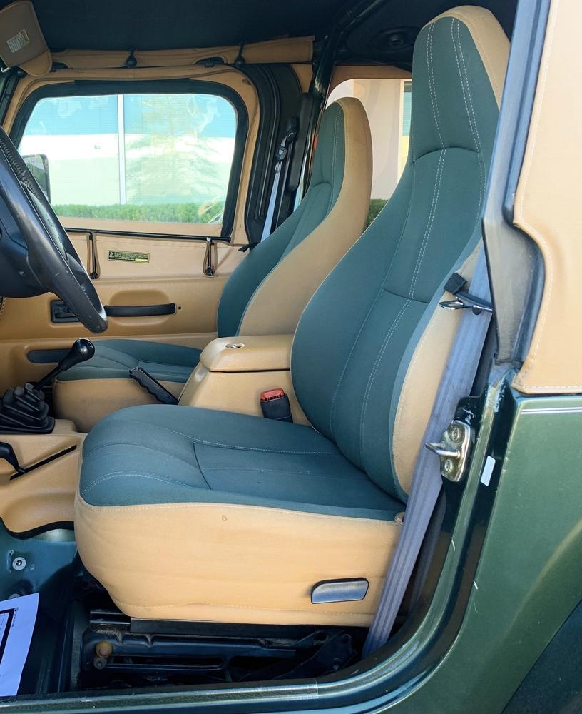 1997 Jeep Wrangler No Reserve! Sahara 4×4 Low Miles Manual Lifted