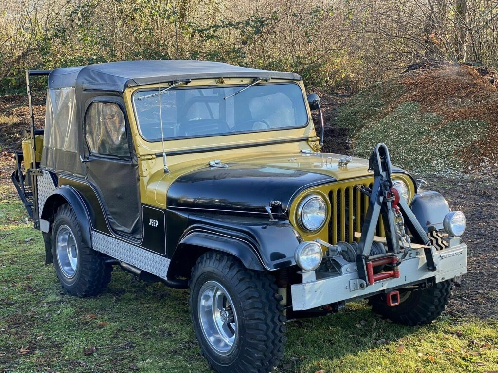 1956 Jeep Willy black M38A1