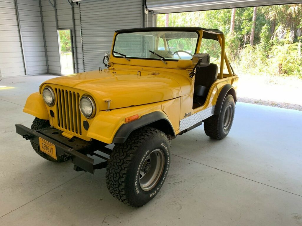 1975 Jeep CJ for sale