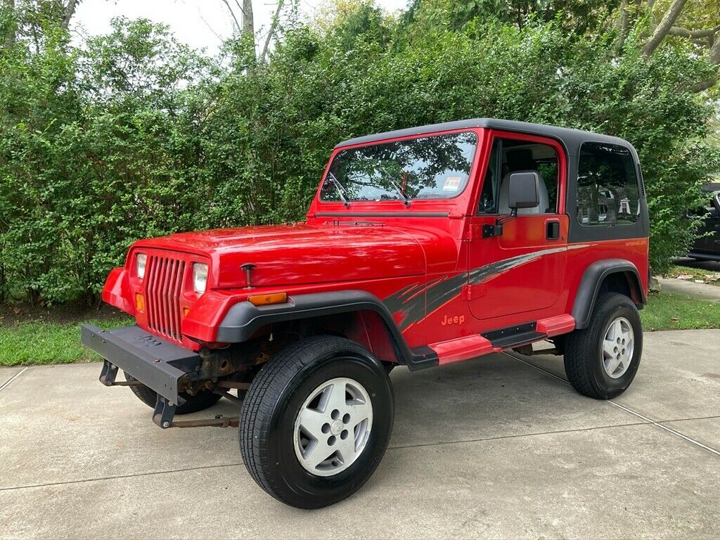 1995 Jeep Wrangler Splash Edition SE