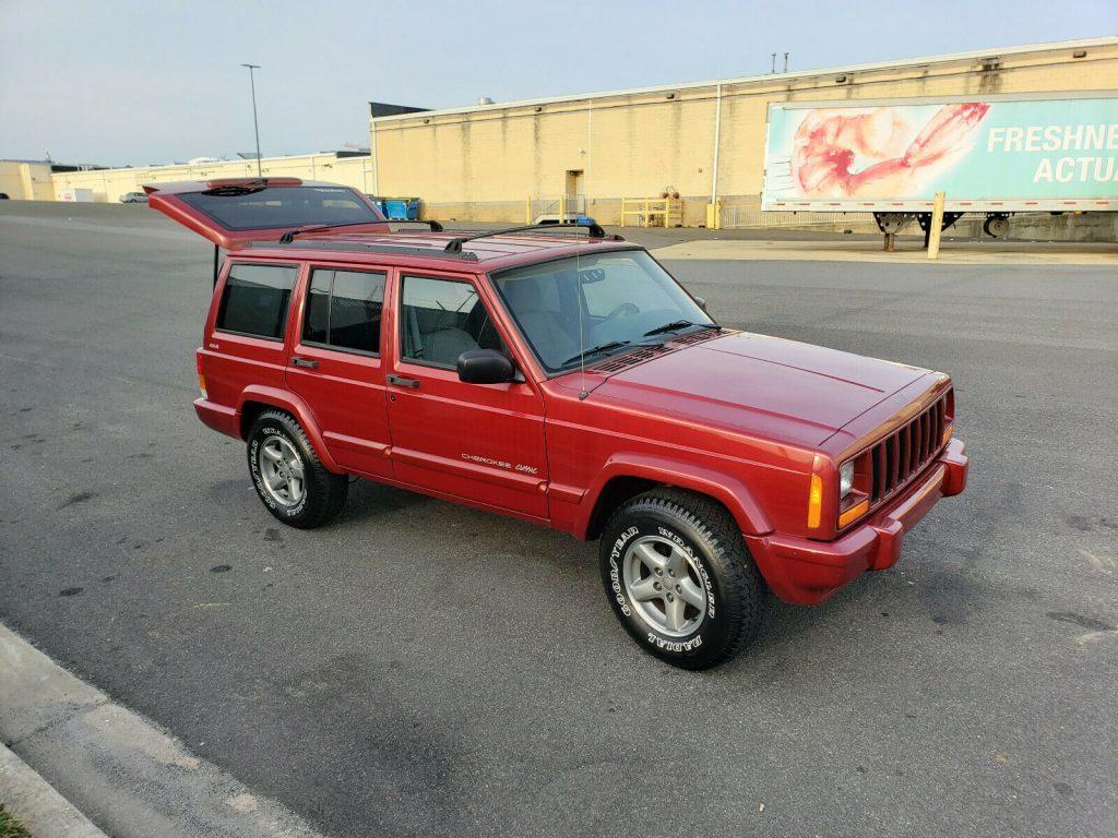 1998 Jeep Cherokee RARE Selec Trac 4×4   ZERO RUST!