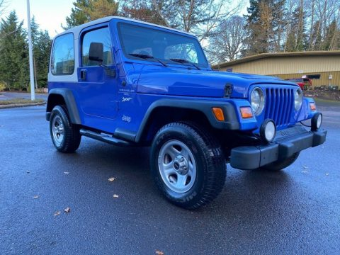 1998 Jeep Wrangler Sport for sale