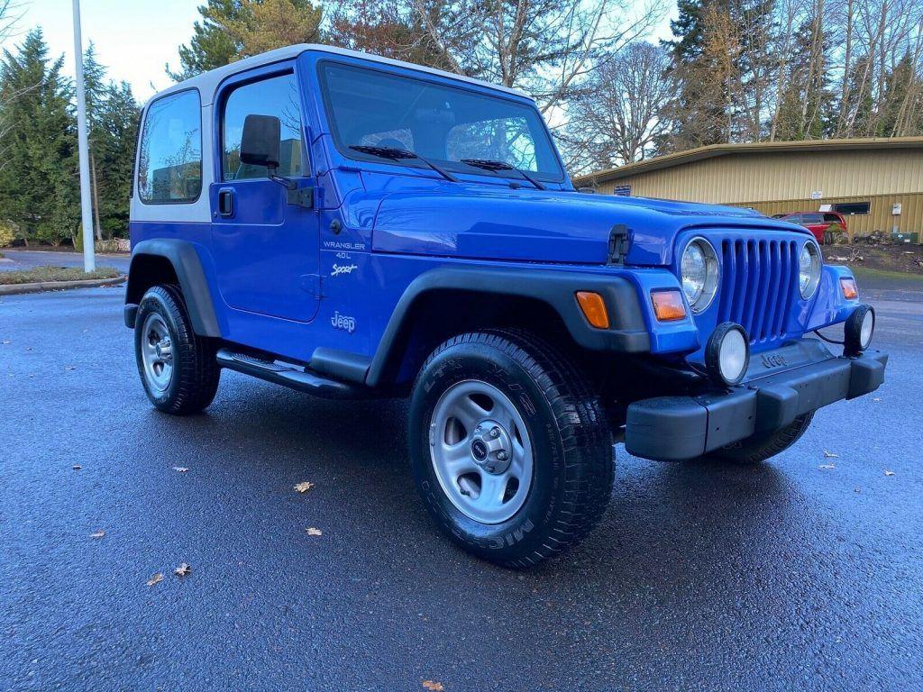 1998 Jeep Wrangler Sport for sale