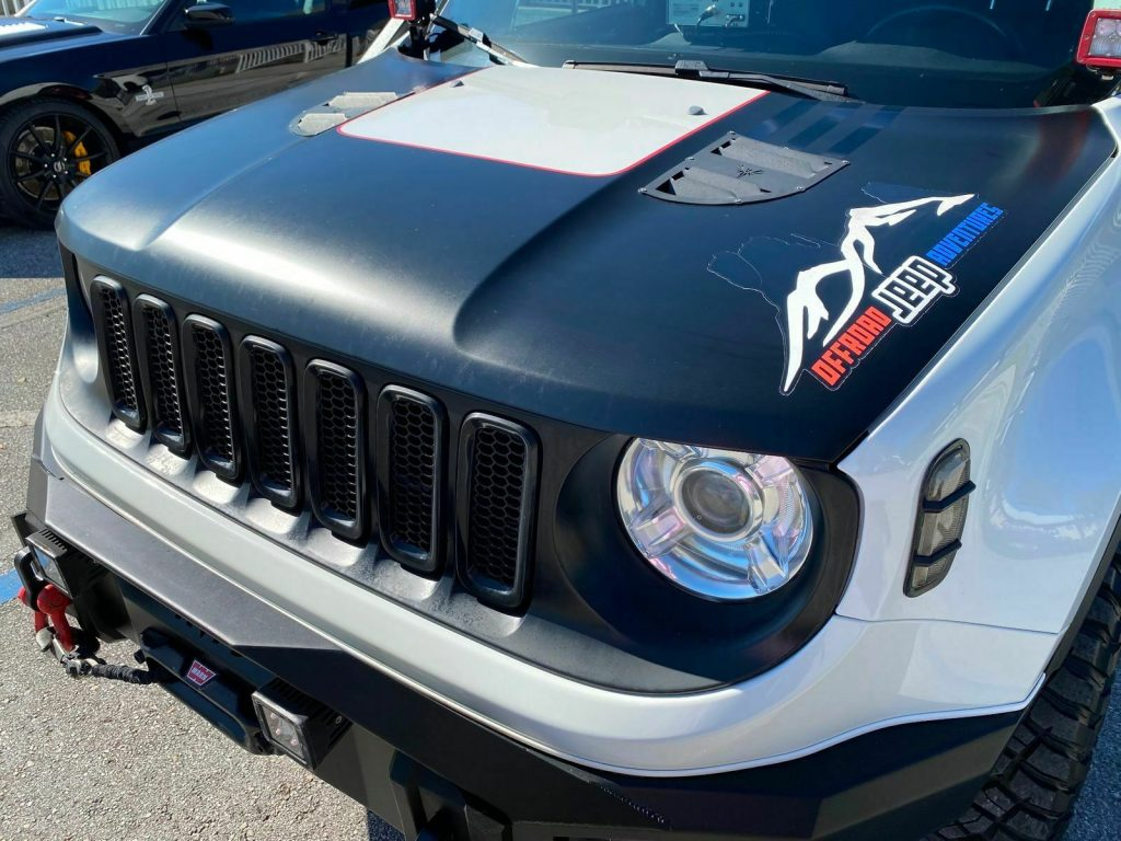 2017 Jeep Renegade Custom Trailhawk Leather NAV FUEL BILSTEIN