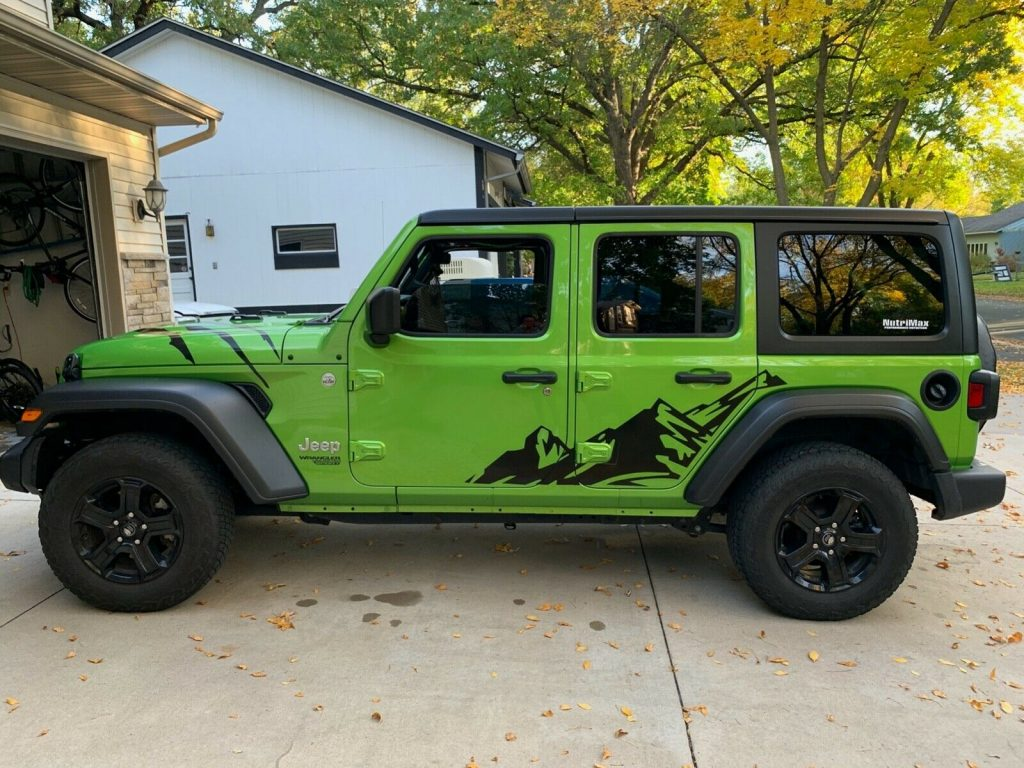 2018 Jeep Wrangler Unlimited Sport JL for sale