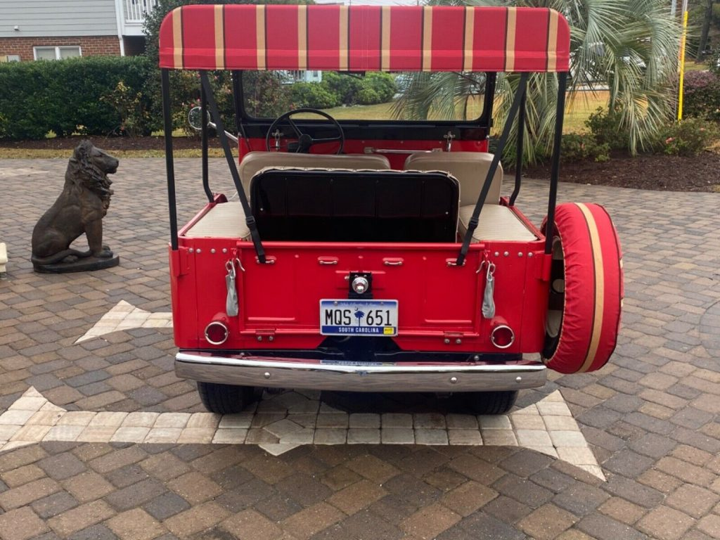 1965 Jeep CJ Tuxedo Park