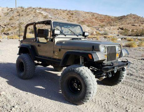 1988 Jeep Wrangler SAHARA YJ for sale
