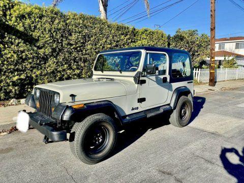 1989 Jeep Wrangler SAHARA for sale