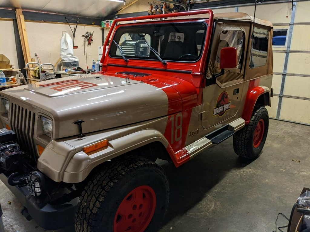 1994 Jeep Wrangler YJ Jurassic Park for sale