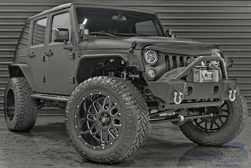 2017 Jeep Wrangler Rubicon 4×4