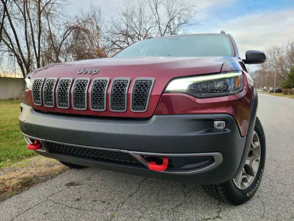2020 Jeep Cherokee Trailhawk 3.2L V6 for sale