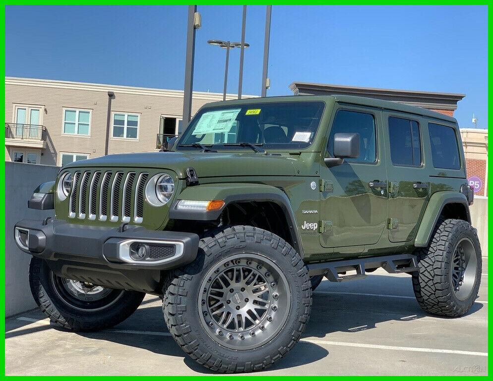 2020 Jeep Wrangler Sahara for sale