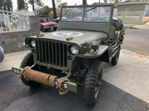 1944 Jeep Willys MB Millinery WW2 for sale