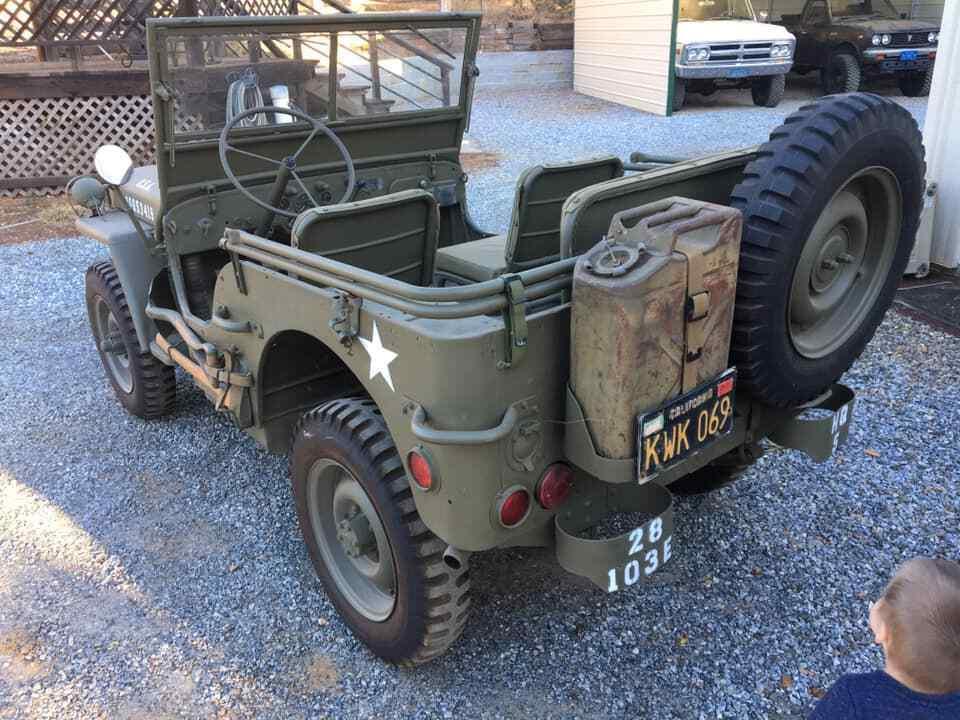 1944 Jeep Willys MB Millinery WW2