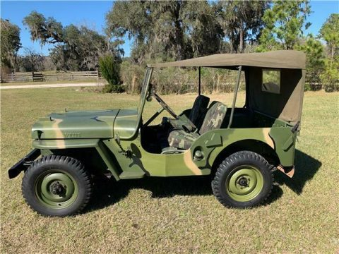 1948 Willys Jeep Camo for sale