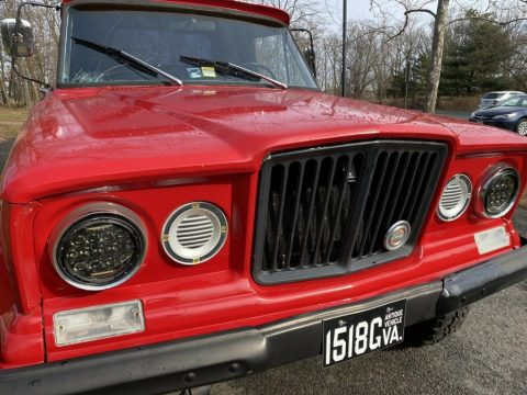 1965 Jeep Gladiator Pickup Red for sale