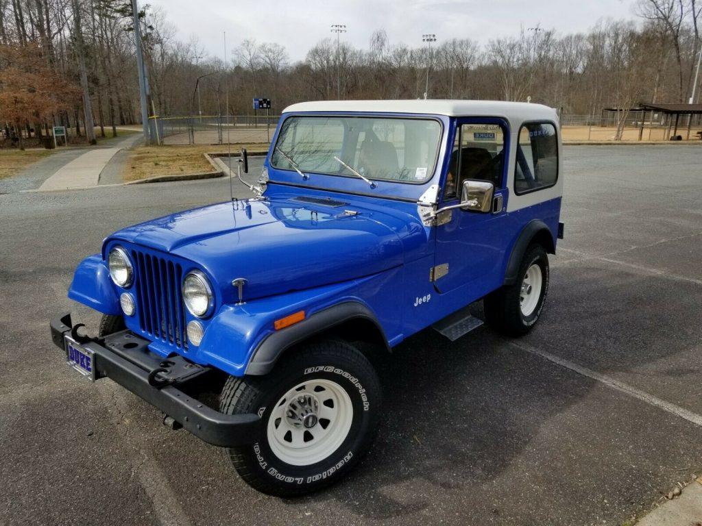 1981 Jeep CJ CJ7