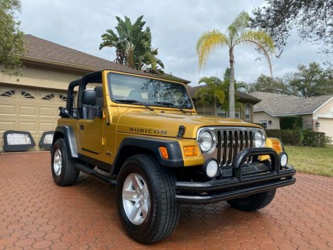 2003 Jeep Wrangler 6 CYL RUBICON for sale