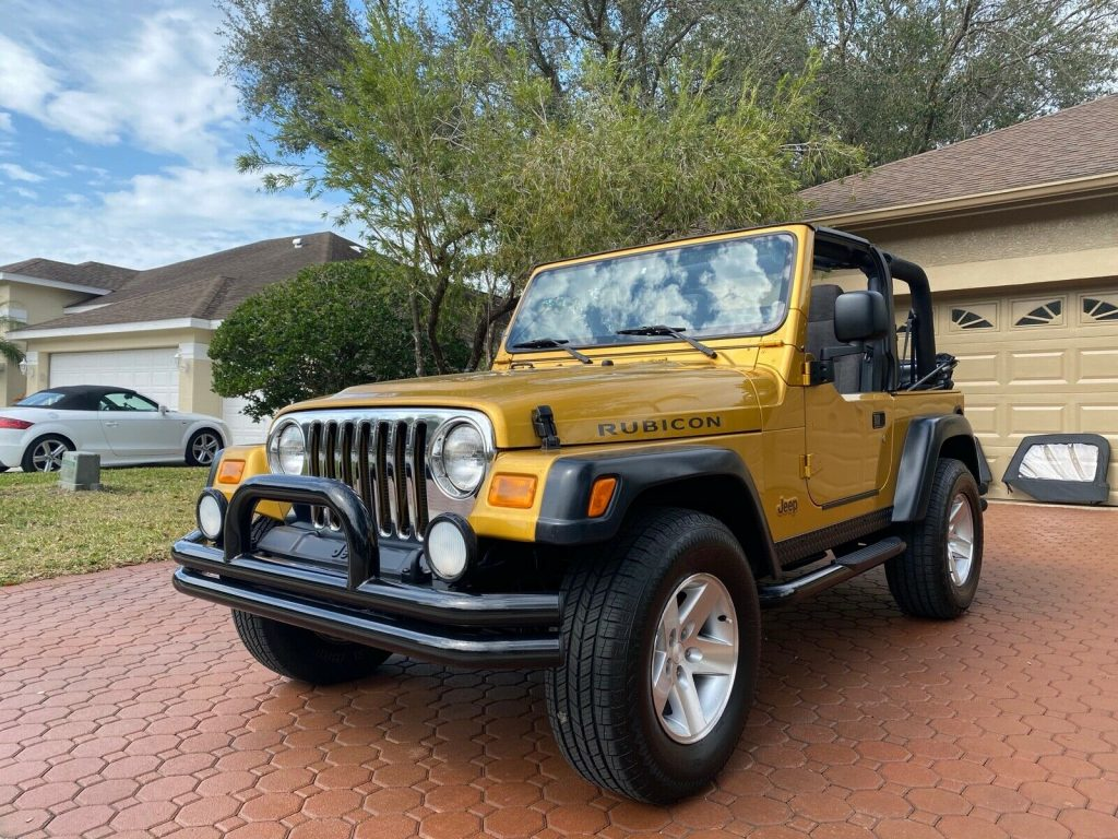2003 Jeep Wrangler 6 CYL RUBICON