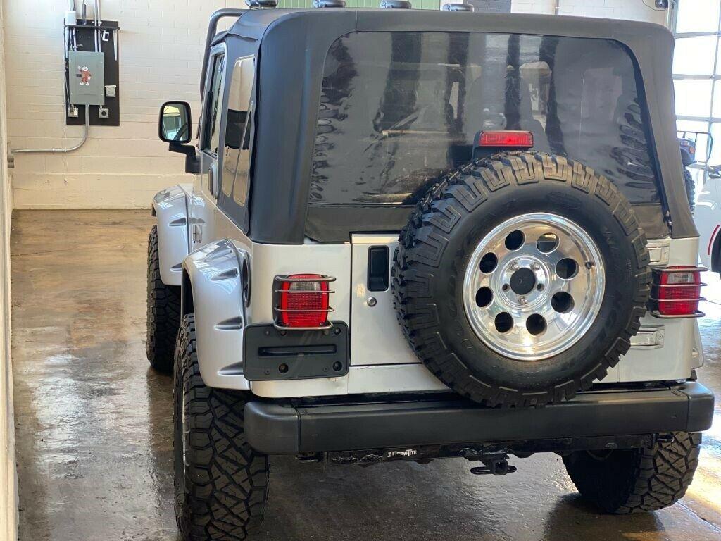 2003 Jeep Wrangler Rubicon Tomb Raider