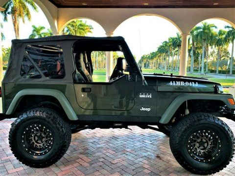 "2004 Jeep Wrangler Willys  18,000 Miles. ""mint""   Never LEFT FL, for sale"