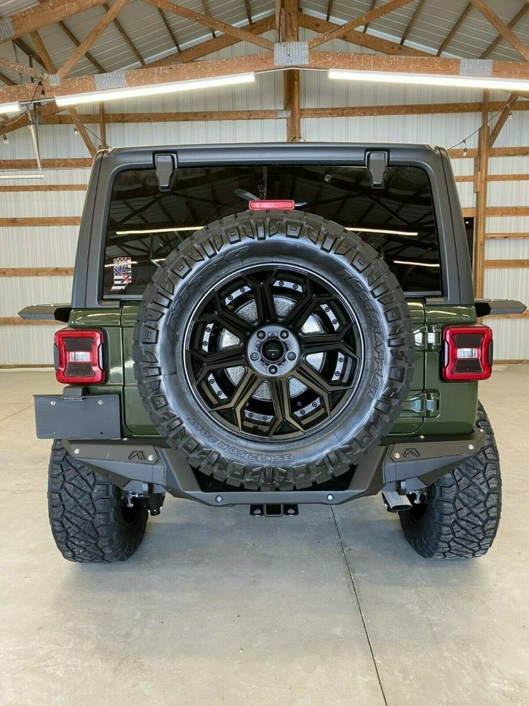 2021 Jeep Wrangler Sahara Unlimited