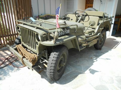 1943 Willys Jeep for sale