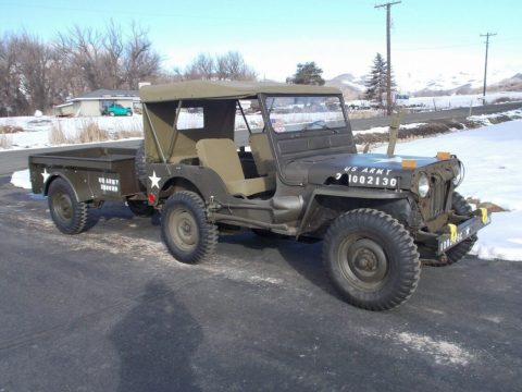 1953 Jeep Willys M38A AND Trailer for sale