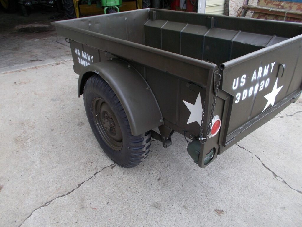 1953 Jeep Willys M38A AND Trailer