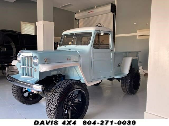 1954 Jeep Willys JEEP Restored Classic Lifted 4 Wheel Drive Pick up