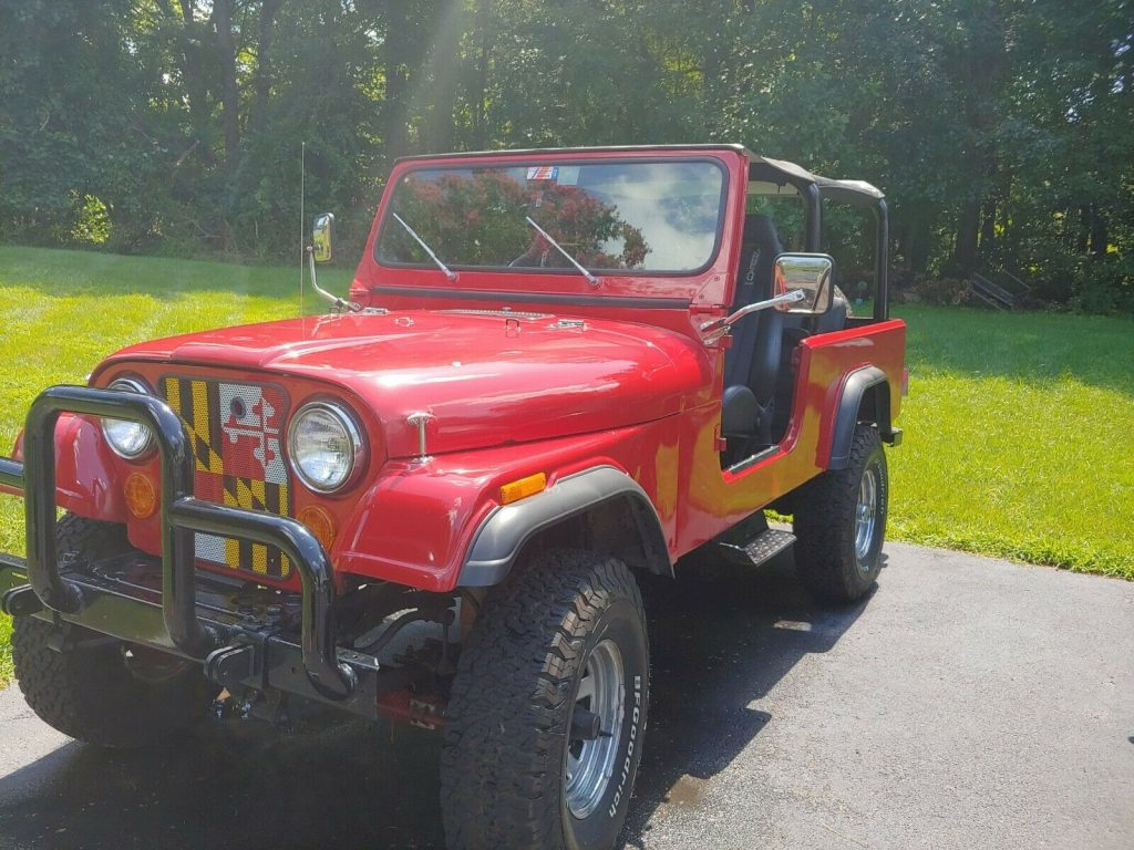 1981 Jeep Scrambler CJ8