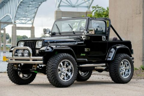 1989 Jeep Wrangler Chevy Big Block for sale