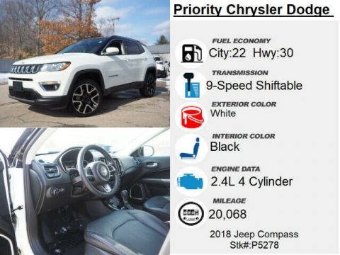 2018 Jeep Compass Limited for sale