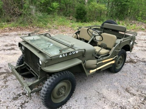 1942 Willys MB Military Jeep for sale