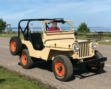 1946 Jeep Jeep CJ2A for sale