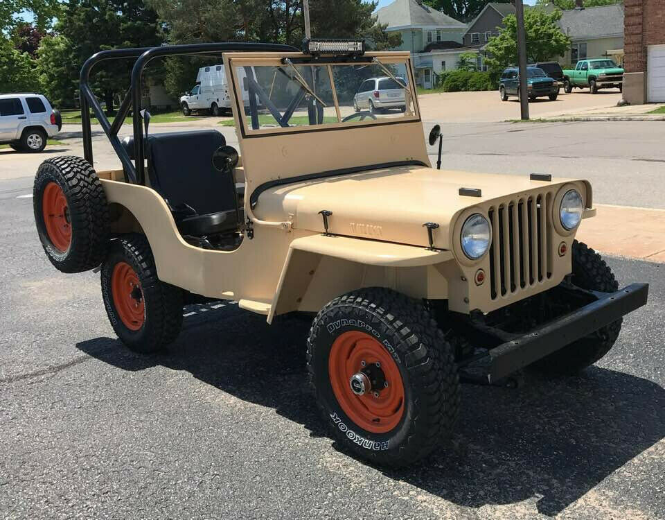 1946 Jeep Jeep CJ2A