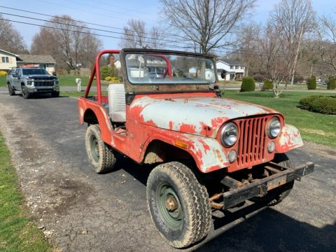 1970 Jeep CJ 5 Dauntless V 6 for sale