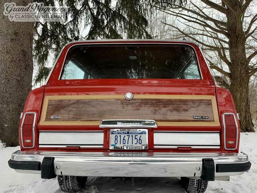 1984 Jeep Wagoneer Grand Wagoneer by Classic Gentleman