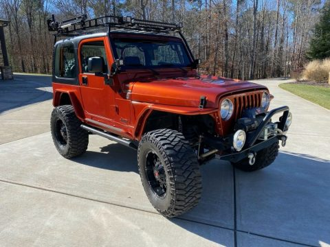 2000 Jeep Wrangler TJ with Hemi conversion for sale