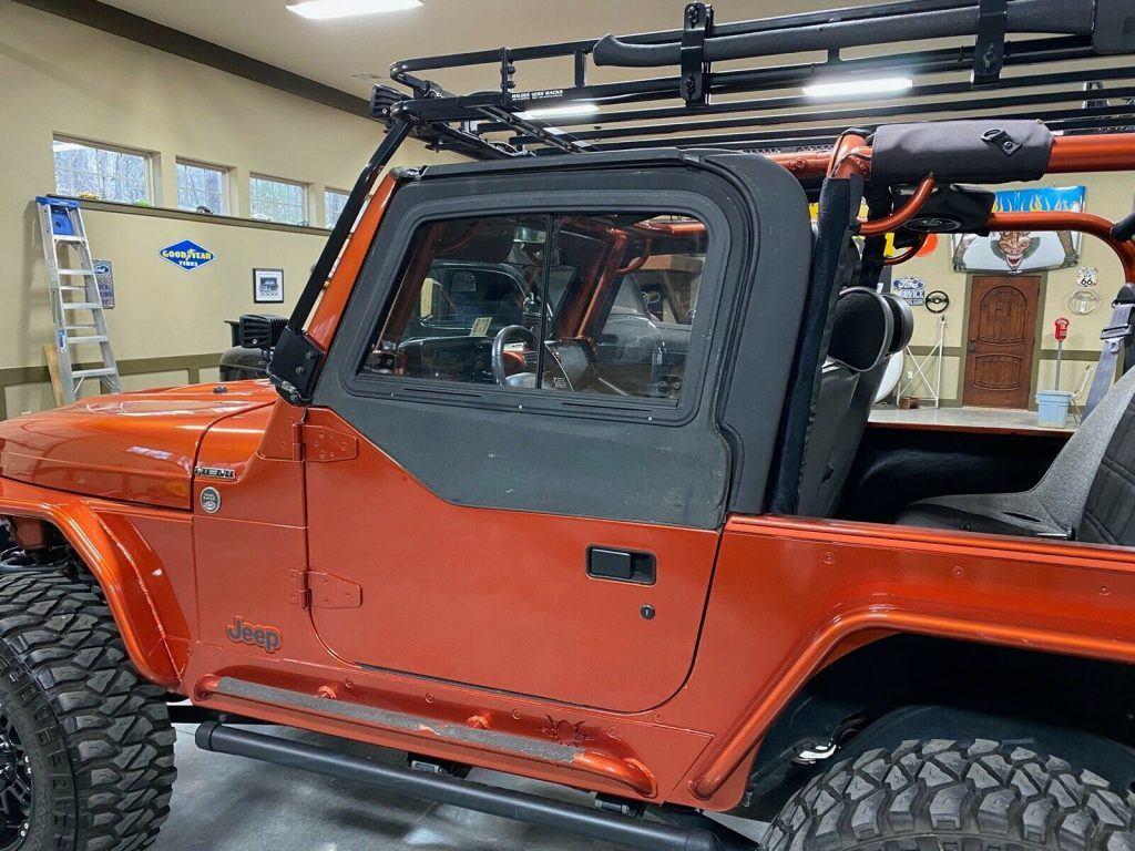 2000 Jeep Wrangler TJ with Hemi conversion