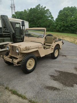 1952 Jeep M38 Military for sale