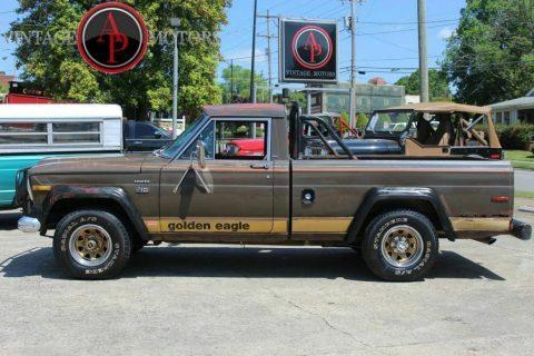 1978 Jeep J10 RARE Golden Eagle Levi's Edition 360 V8! for sale