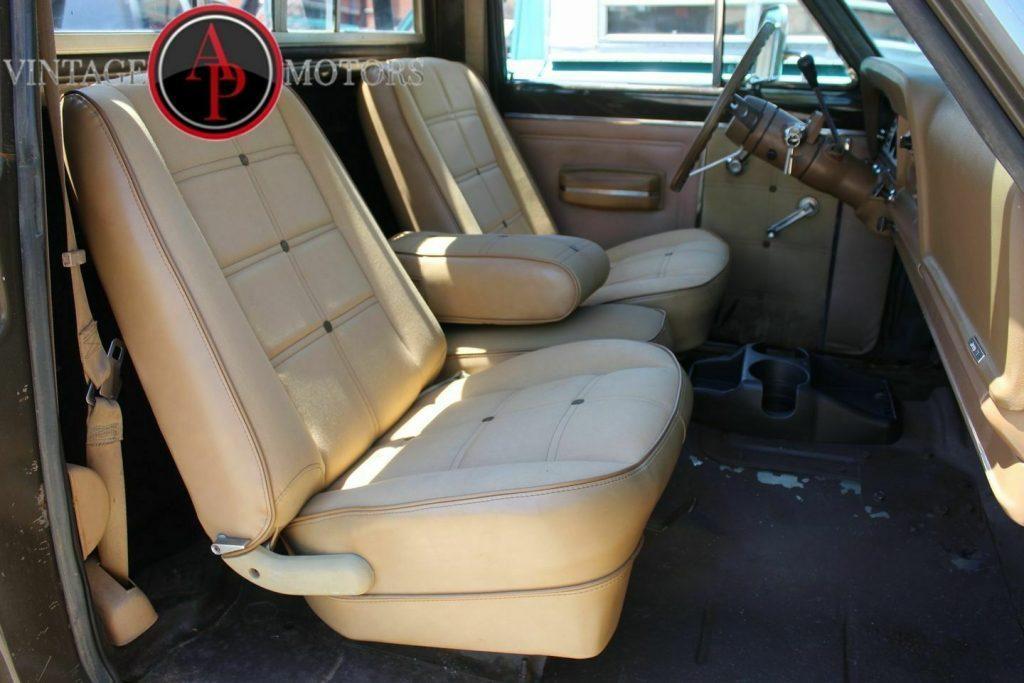 1978 Jeep J10 RARE Golden Eagle Levi's Edition 360 V8!