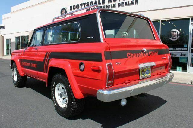 1983 Jeep Cherokee Chief