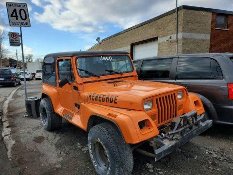 1988 Jeep Wrangler LAREDO for sale