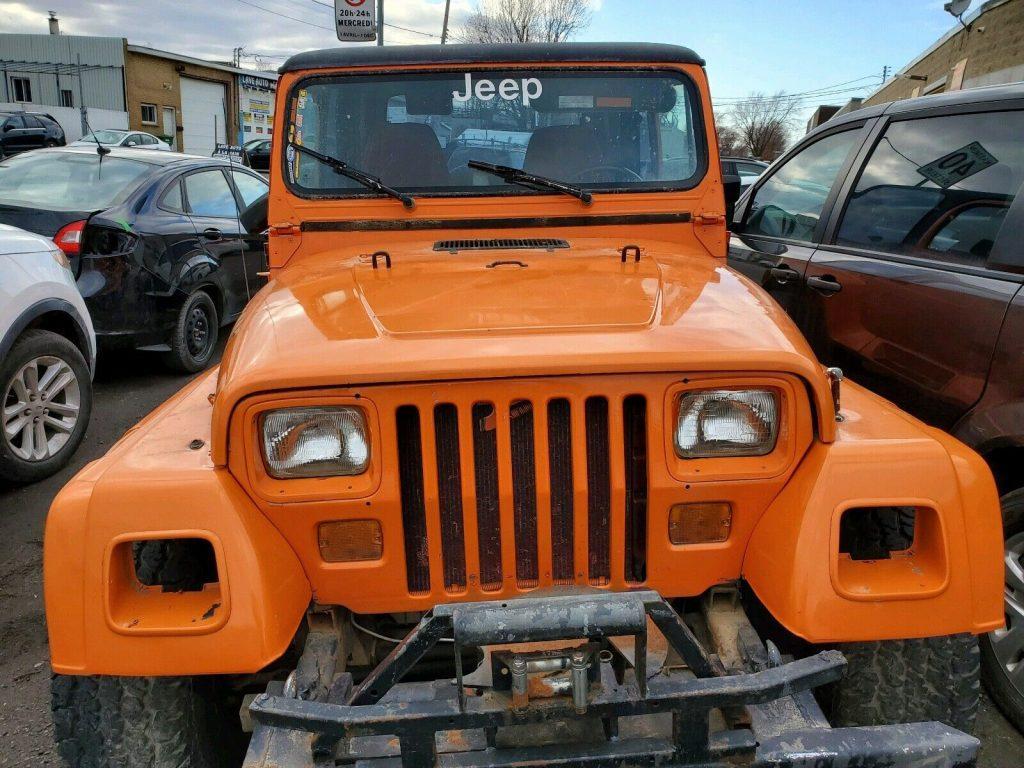 1988 Jeep Wrangler LAREDO