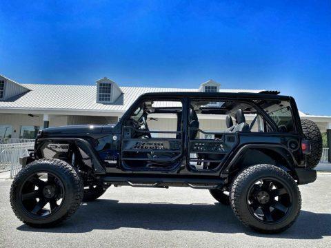 2021 Jeep Wrangler SKY TOP Blackout Turbo Leather NAV 37″ for sale