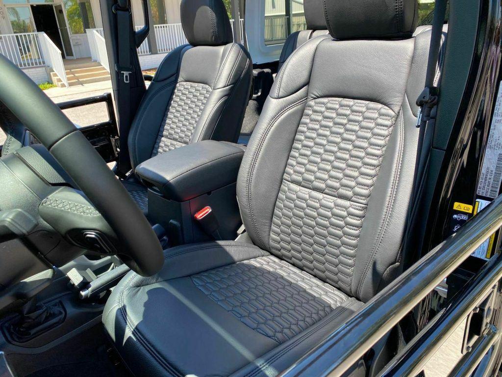 2021 Jeep Wrangler SKY TOP Blackout Turbo Leather NAV 37″