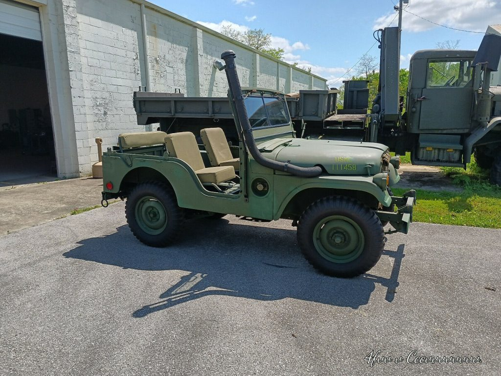Military 1954 M38a1 Jeep